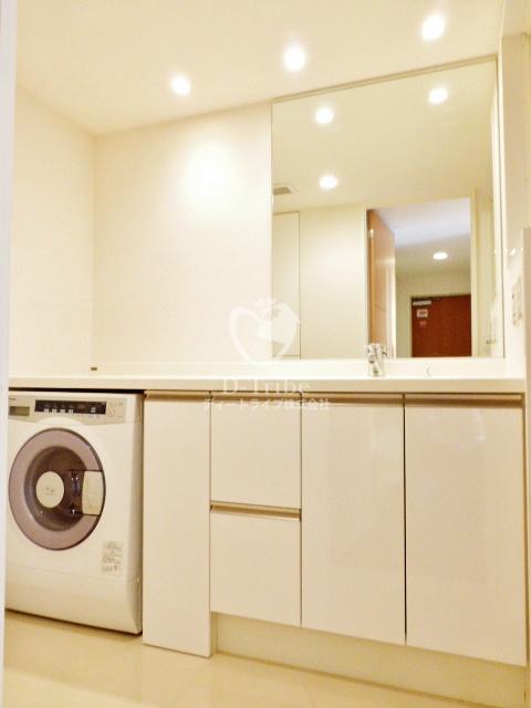 Park Axis白金台(パークアクシス白金台)[604号室]の独立洗面台 パークアクシス白金台