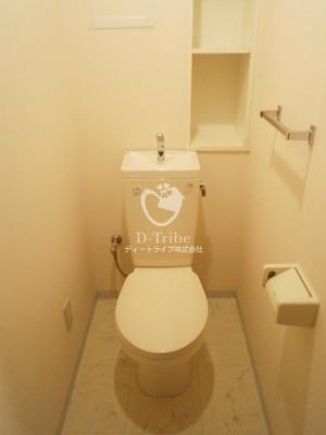 パーク麻布十番[301号室]のトイレ パーク麻布十番
