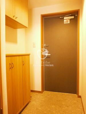 パーク麻布十番[301号室]の玄関 パーク麻布十番