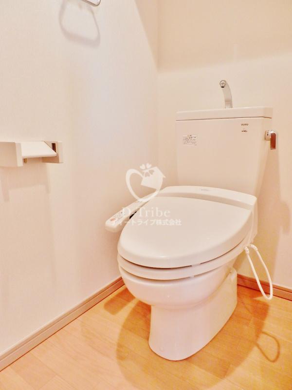 エルスタンザ白金[702号室]のトイレ KDXレジデンス白金3