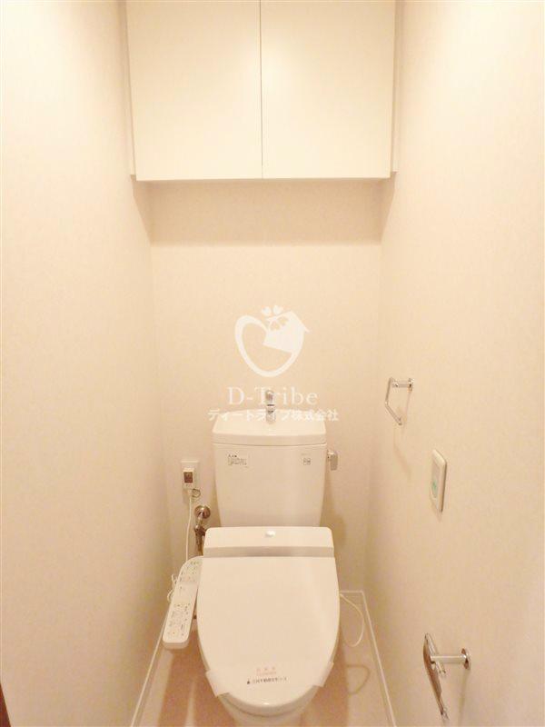 レジディアタワー目黒不動前[1610号室]のトイレ レジディアタワー目黒不動前