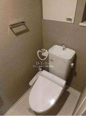 パークアクシス池田山[914号室]のトイレ パークアクシス池田山