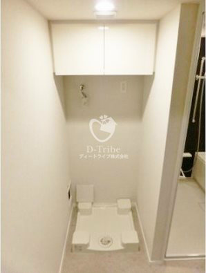パークアクシス池田山[429号室]の洗濯機置き場 パークアクシス池田山