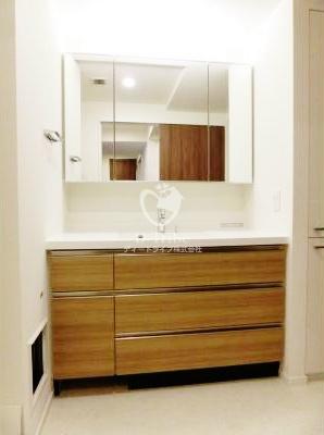 パークアクシス池田山[505号室]の独立洗面台 パークアクシス池田山