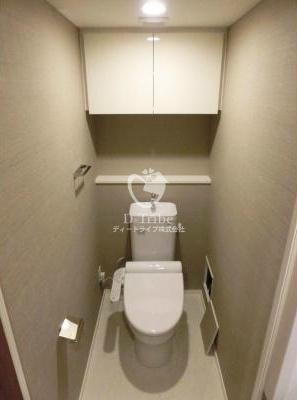 パークアクシス池田山[505号室]のトイレ パークアクシス池田山