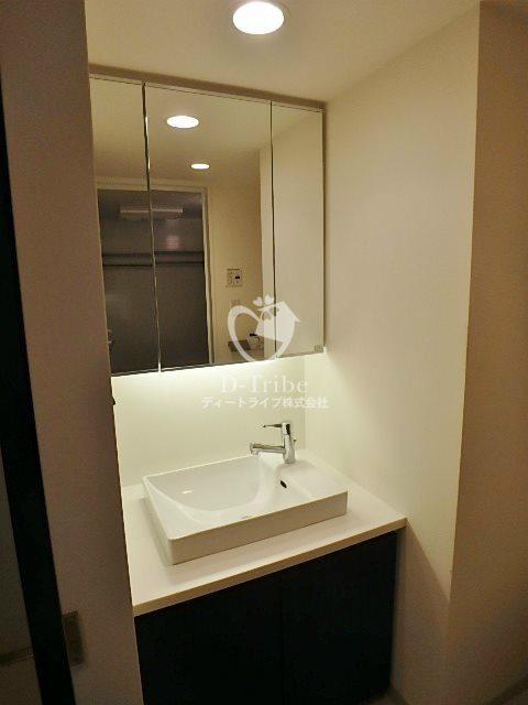 ベルファース目黒[703号室]の独立洗面台 ベルファース目黒