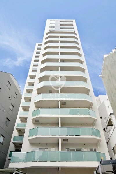 アパートメンツタワー六本木の外観写真