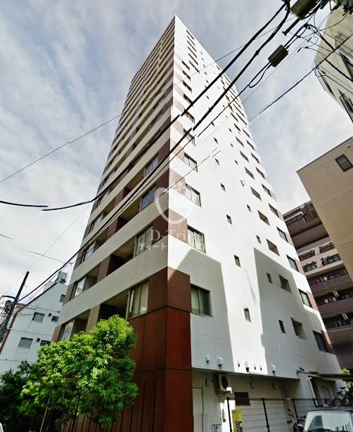 アパートメンツタワー麻布十番の外観写真