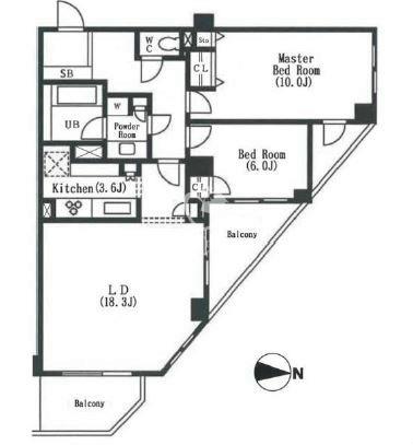 アパートメンツ東山[211号室]の間取り アパートメンツ東山