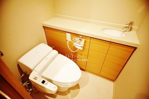 シティタワー高輪[609号室]のトイレ シティタワー高輪