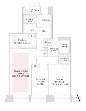 ラ・トゥール半蔵門[1202号室]のラ・トゥール半蔵門
