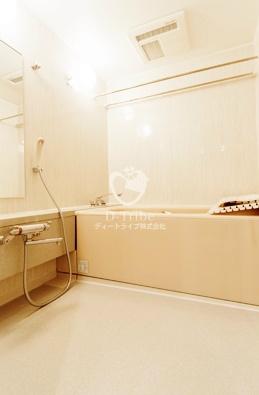 渋谷インフォスタワーハイツ[2002号室]のバスルーム 渋谷インフォスタワーハイツ