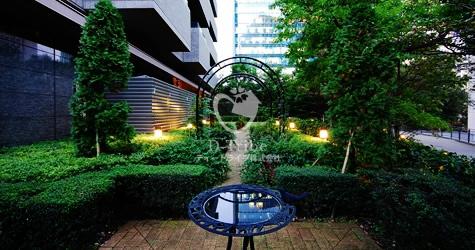 中庭 泉ガーデンレジデンス