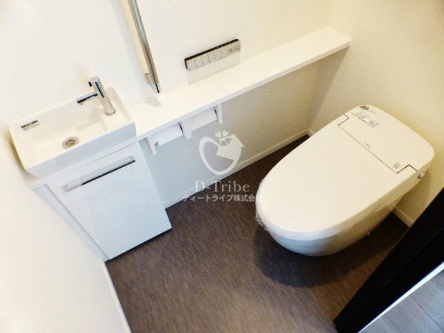 六本木グランドタワーレジデンス[1202号室]のトイレ 六本木グランドタワーレジデンス