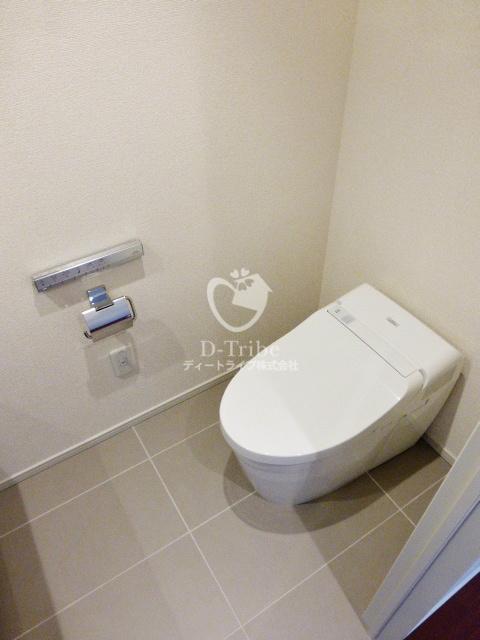 ザ・パークハウス広尾羽澤[227号室]のトイレ ザ・パークハウス広尾羽澤