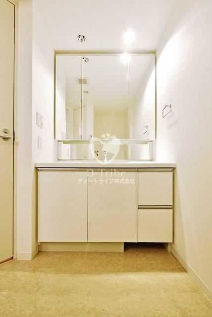 シティタワー品川[3909号室]の独立洗面台 シティタワー品川
