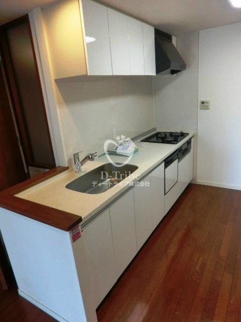 スペーシア恵比寿[604号室]のキッチン スペーシア恵比寿