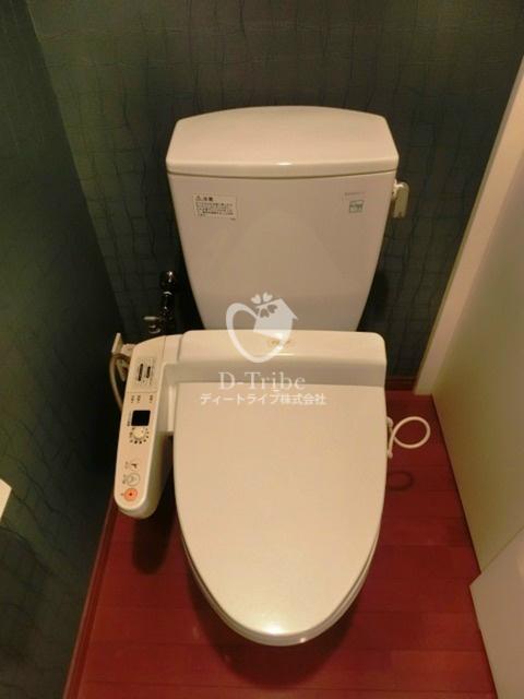 スペーシア恵比寿[604号室]のトイレ スペーシア恵比寿