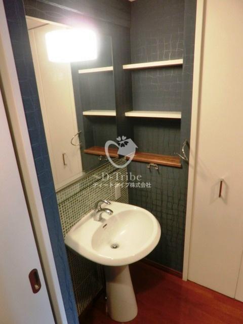 スペーシア恵比寿[604号室]の洗面台 スペーシア恵比寿