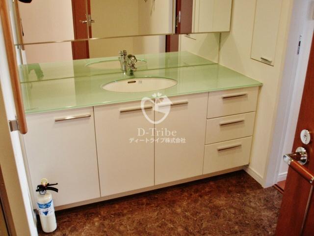 プレイス白金ブライトレジデンス[506号室]の独立洗面台 プレイス白金ブライトレジデンス