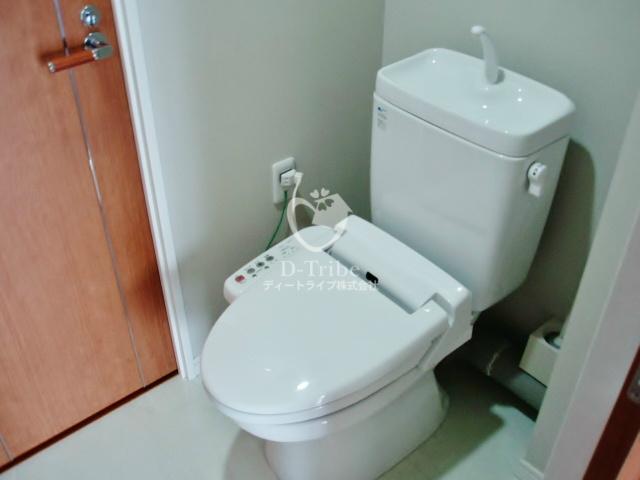 プレイス白金ブライトレジデンス[506号室]のトイレ プレイス白金ブライトレジデンス