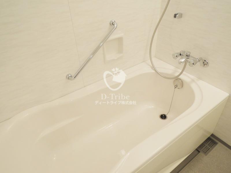 ストーリア赤坂[603号室]のバスルーム ストーリア赤坂