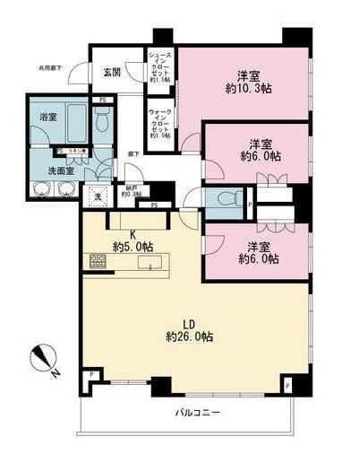 ザ・パークハウスグラン南青山[306号室]のザ・パークハウスグラン南青山