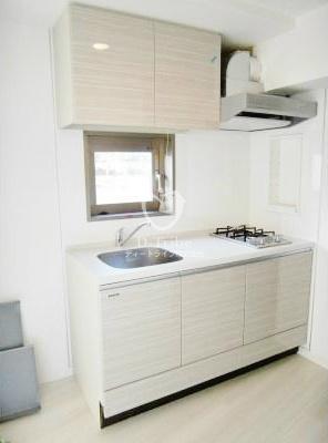 REGZE白金高輪(レグゼ白金高輪)[1004号室]のキッチン収納 REGZE白金高輪