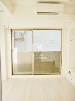 REGZE白金高輪(レグゼ白金高輪)[1004号室]のベッドルーム REGZE白金高輪