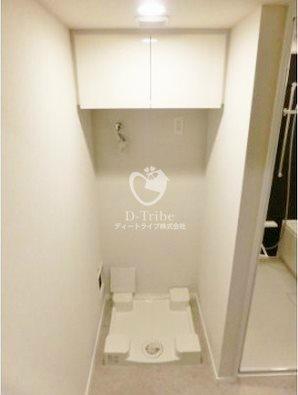 パークアクシス池田山[532号室]の洗濯機置き場 パークアクシス池田山