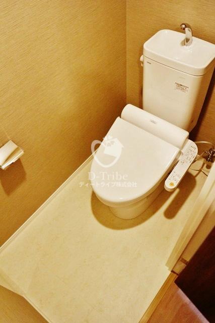 パークアクシス池田山[1002号室]のトイレ パークアクシス池田山