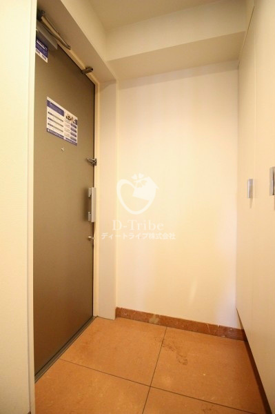 レジディア東麻布[401号室]の玄関 レジディア東麻布