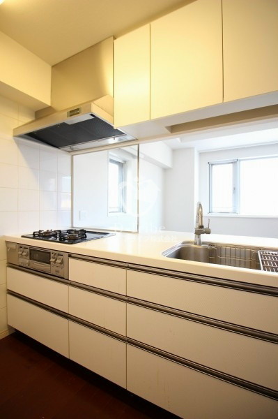 レジディア東麻布[401号室]のキッチン レジディア東麻布