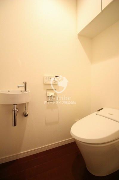 レジディア東麻布[401号室]のトイレ レジディア東麻布