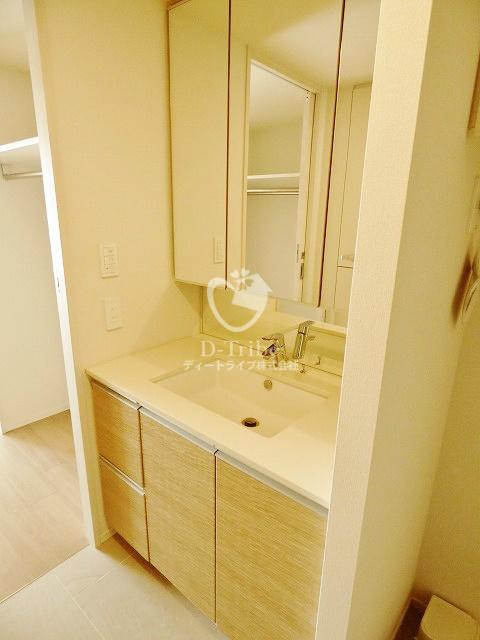 パークハビオ恵比寿[701号室]の洗面台 パークハビオ恵比寿