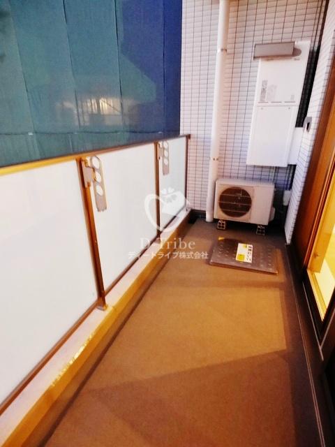 パークハビオ恵比寿[701号室]のバルコニー パークハビオ恵比寿