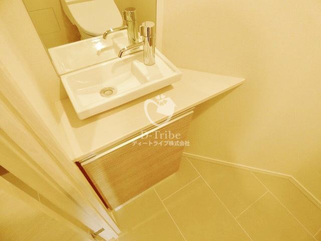 パークハビオ恵比寿[1108号室]の洗面台 パークハビオ恵比寿
