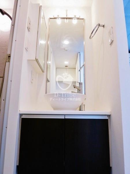 クイズ恵比寿[701号室]の独立洗面台 クイズ恵比寿