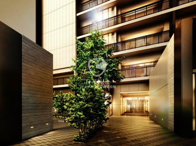 エントランスアプローチ ザ・パークハウス渋谷美竹