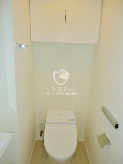 ザ・パークハウス渋谷美竹[603号室]のトイレ ザ・パークハウス渋谷美竹