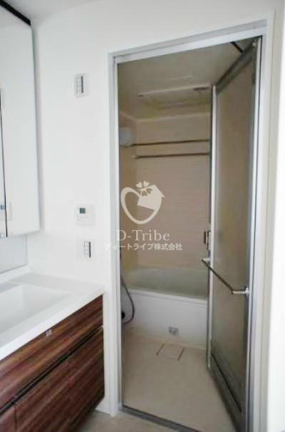 ザ・パークハウス渋谷美竹[603号室]の洗面台 ザ・パークハウス渋谷美竹