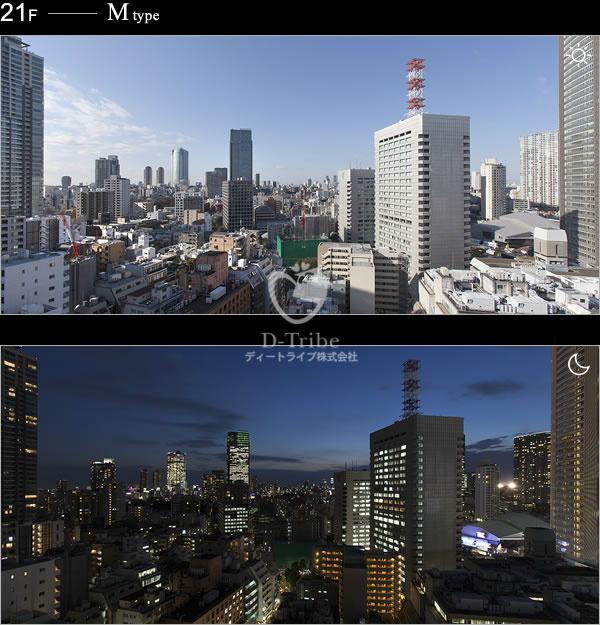 眺望イメージ パークハビオ赤坂タワー