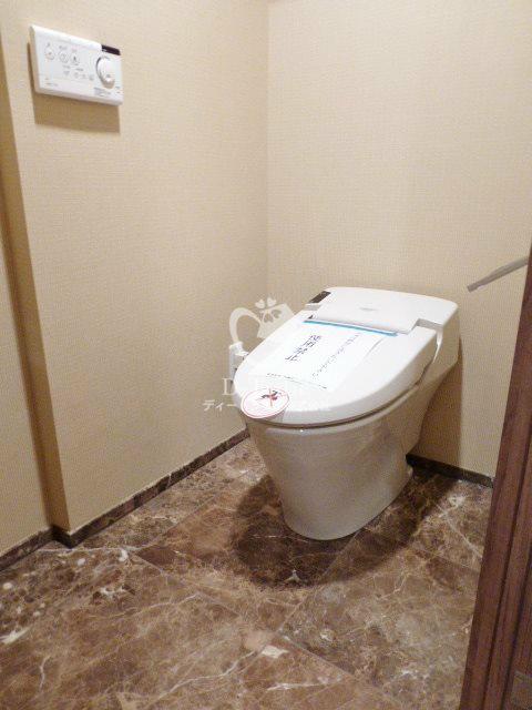 ホライズンプレイス赤坂[1402号室]のトイレ ホライズンプレイス赤坂