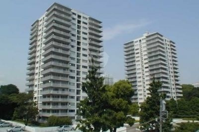 三田綱町パークマンションの外観写真