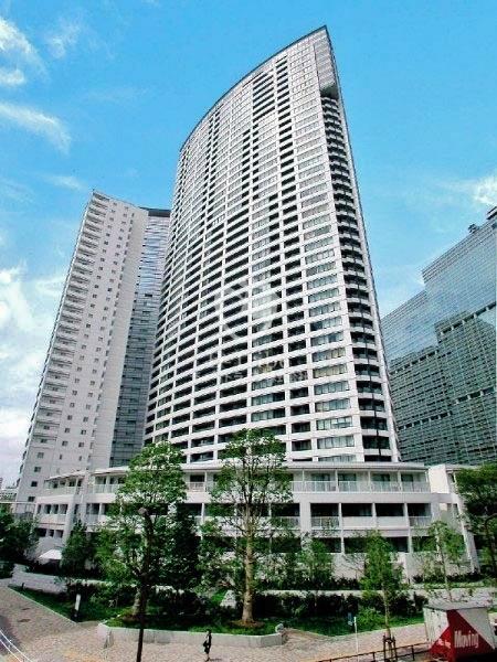 品川Vタワー タワー棟の外観
